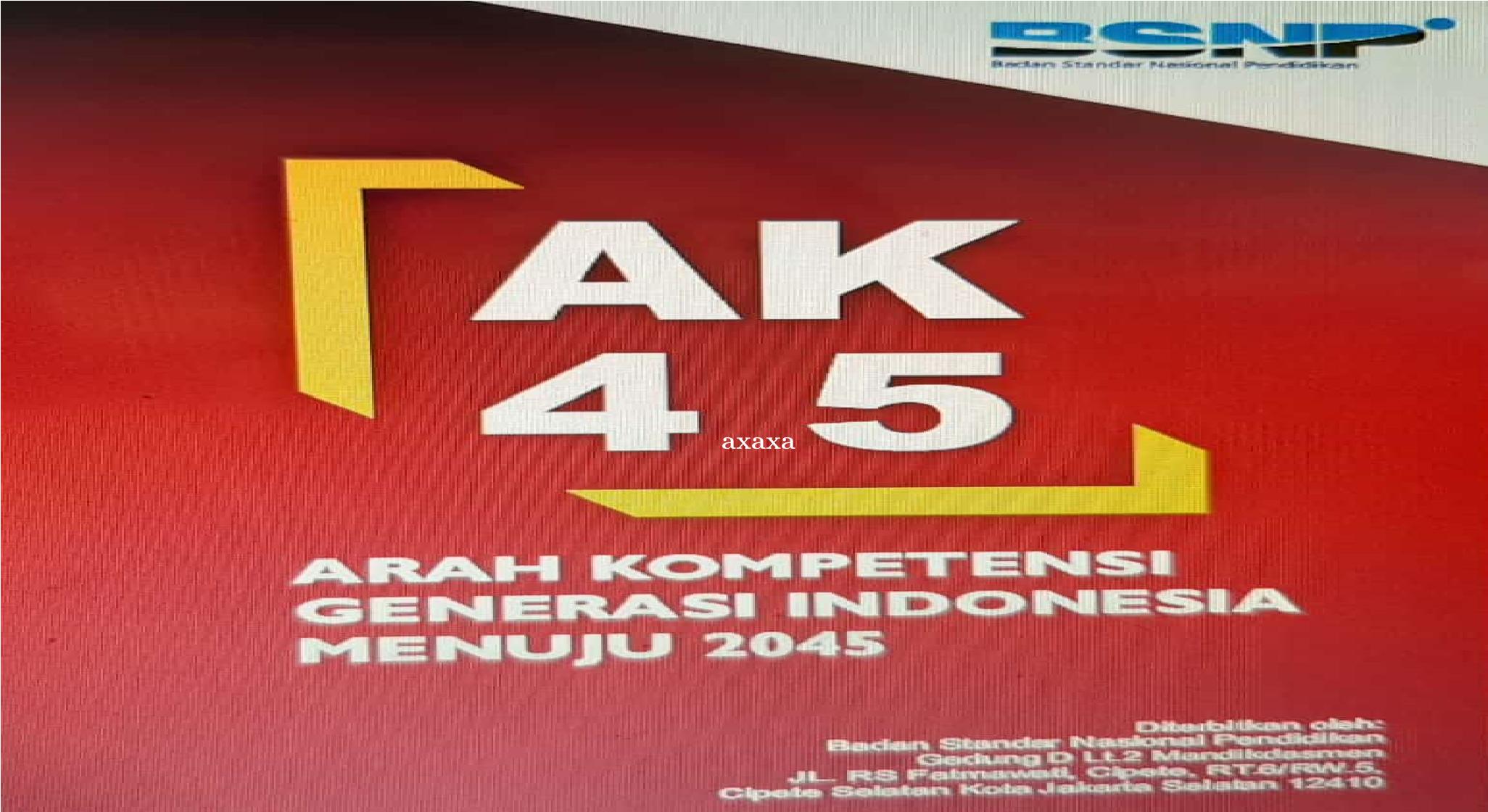 Arah Kompetensi Generasi Indonesia Menuju 2045